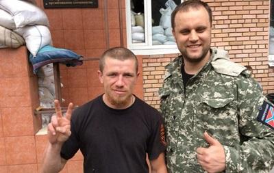 Полевой командир  Моторола  прибыл в Донецк - СМИ