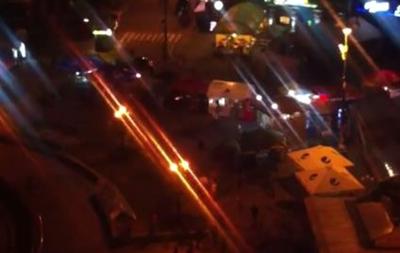 На Майдане произошла перестрелка: есть раненые
