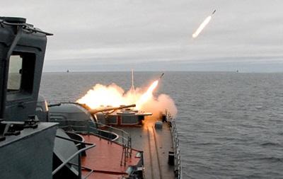 Ударные группы Черноморского флота РФ уничтожили боевые корабли условного противника