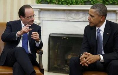 Обама и Олланд попросили Путина повлиять на  ополченцев  Донбасса