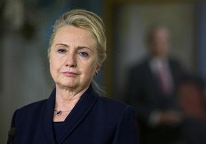 Клинтон взяла на себя личную ответственность за гибель посла в Бенгази