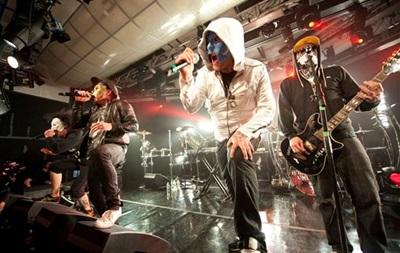 Концерт группы Hollywood Undead