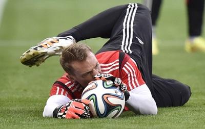 Фотогалерея: Самые яркие кадры с тренировки сборной Германии
