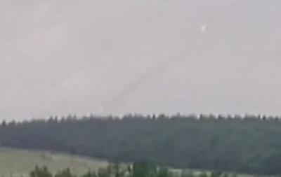 Появилось видео работы  Града  над Луганском