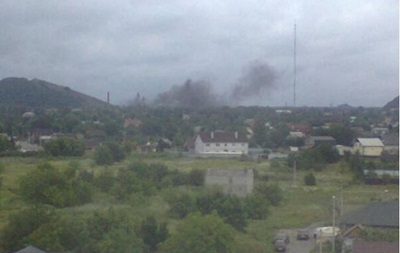 Взорванная шахта в Донецке была занята  ополченцами  - профсоюз горняков