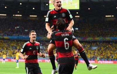 Фотогалерея: Как Германия Бразилию уничтожила в полуфинале ЧМ-2014