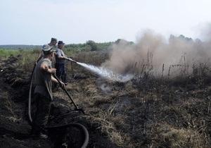 Вчера в Крыму потушили возгорание травы на площади 30 гектаров
