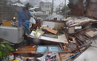 Тайфун в Японии унес жизни трех человек