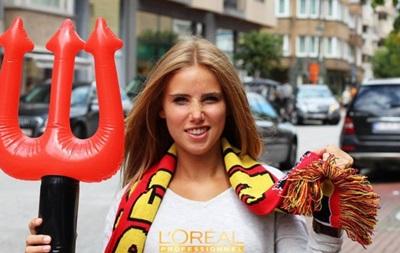 Болельщица сборной Бельгии благодаря ЧМ-2014 стала моделью