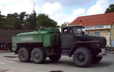 Россия перебрасывает военную технику в Крым