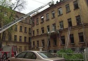 Жертвами пожара в центре Москвы стали семеро выходцев из Средней Азии