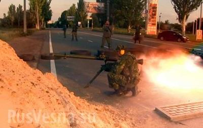 Ополченцы  окружили аэропорт в Донецке – СМИ