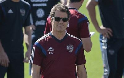 Известия: Фабио Капелло готов уйти в отставку с поста главного тренера сборной России