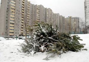 Вчера из Киева вывезли 15,5 тыс тонн снега