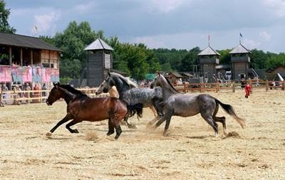 В Древнем Киеве – выставка лошадей и День воды