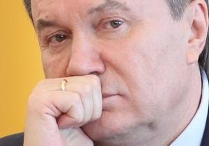 Ъ: Янукович выразил обеспокоенность состоянием гуманитарной сферы