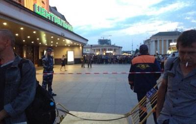 На киевском вокзале ищут бомбу