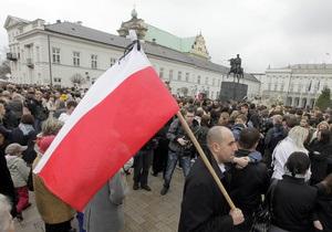 Председатель Сейма Польши считает необходимым признать Волынскую трагедию геноцидом польского народа