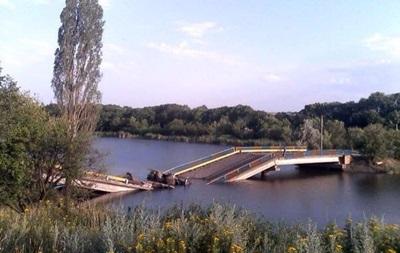 В Донецкой области взорвали еще один мост