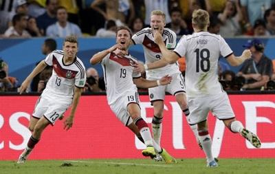 Германия выигрывает чемпионат мира по футболу 2014