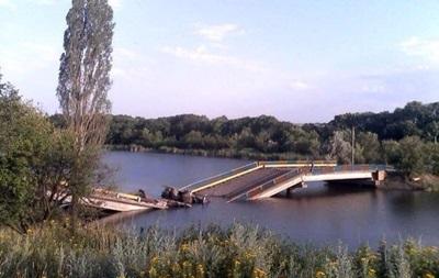 На Донбассе взорвали три моста