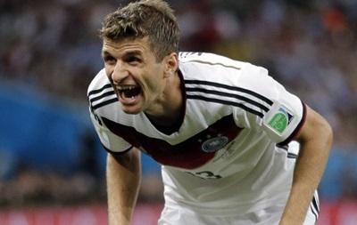 Нападающий сборной Германии: Золотую бутсу можете засунуть себе в задницу