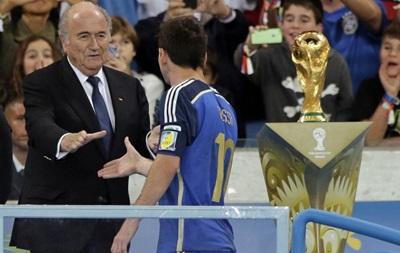 Президент FIFA: Удивлен, что Месси  стал лучшим игроком ЧМ-2014