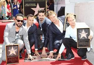 Backstreet Boys получили звезду на Аллее славы Голливуда