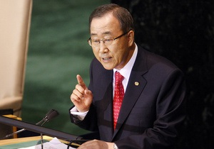 Пан Ги Мун обеспокоен израильским авиаударом по Сирии