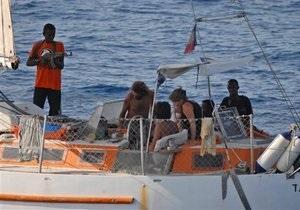 Сомалийские пираты захватили танкер, шедший под британским флагом