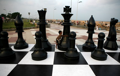 В Киеве чемпионы сыграют в шахматы с любителями