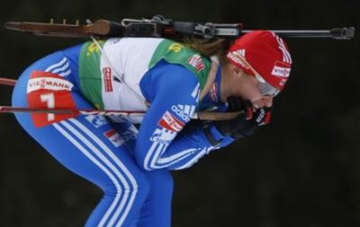 Российскую биатлонистку дисквалифицировали на восемь лет