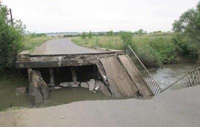 На Донбассе взорвали мост через реку Лугань