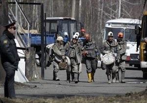 В шахте Распадская горноспасателям удалось потушить основные очаги пожаров