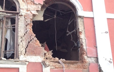 В Луганске обстрелом поврежден музей истории и культуры города
