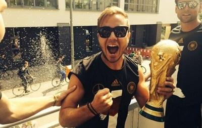 Футболісти збірної Німеччини пошкодили Кубок світу