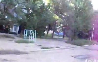 Дзержинск попал под обстрел