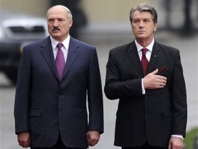Ющенко и Лукашенко посетят одну из областей, где объявлен карантин