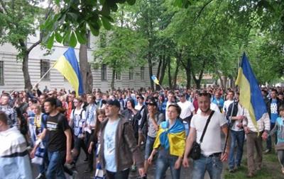 Во Львове пройдет марш единства фанов Динамо и Шахтера