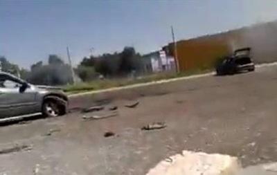 Артобстрел Донецка: видео с места событий
