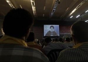 Лидер Хизбаллы пообещал  отрубить руку Израиля