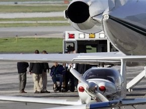Самолет с Демьянюком на борту прибыл в Германию