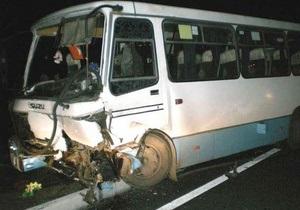 В Харьковской области автомобиль врезался в маршрутку: есть жертвы