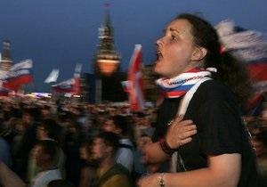 Опрос: 14% россиян считают, что РФ и Украина должны создать общее государство