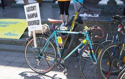 Велопробег Критическая Масса в Одессе