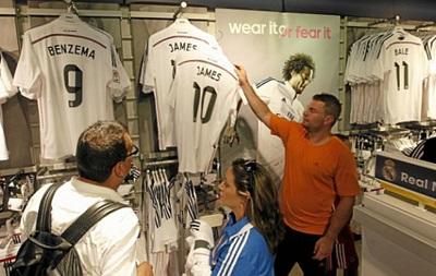 Продажа футболок новичка Реала бьет рекорды
