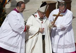 Интронизация Папы завершается торжественной мессой