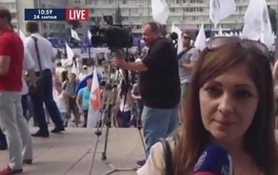 В Киеве предприниматели митингуют под зданием ЦИК