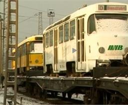 В Днепропетровске набирает обороты скандал вокруг покупки списанных немецких трамваев