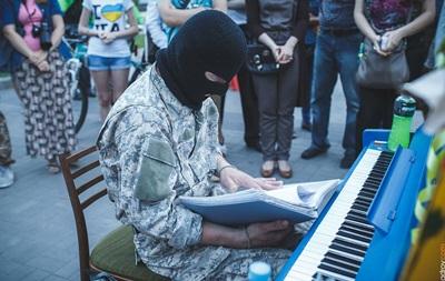 Пианист-экстремист с Майдана  вновь сыграет в Харькове